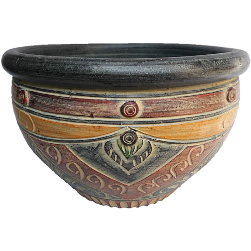 15in. Traditional Thai Planter Grpc