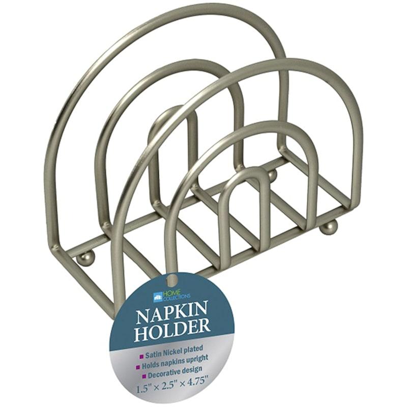 Nickel Napkin Holder