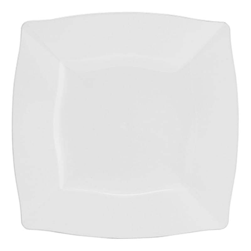 10.75in. White Square Plates Set Of 10