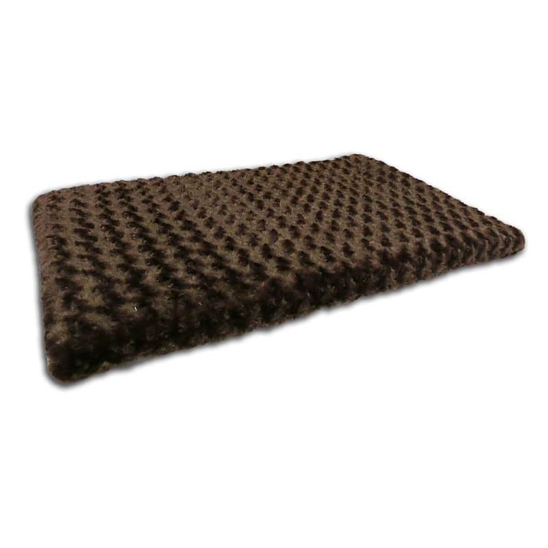 Tobey Orthopedic Pet Mat 35X22 Chocolate