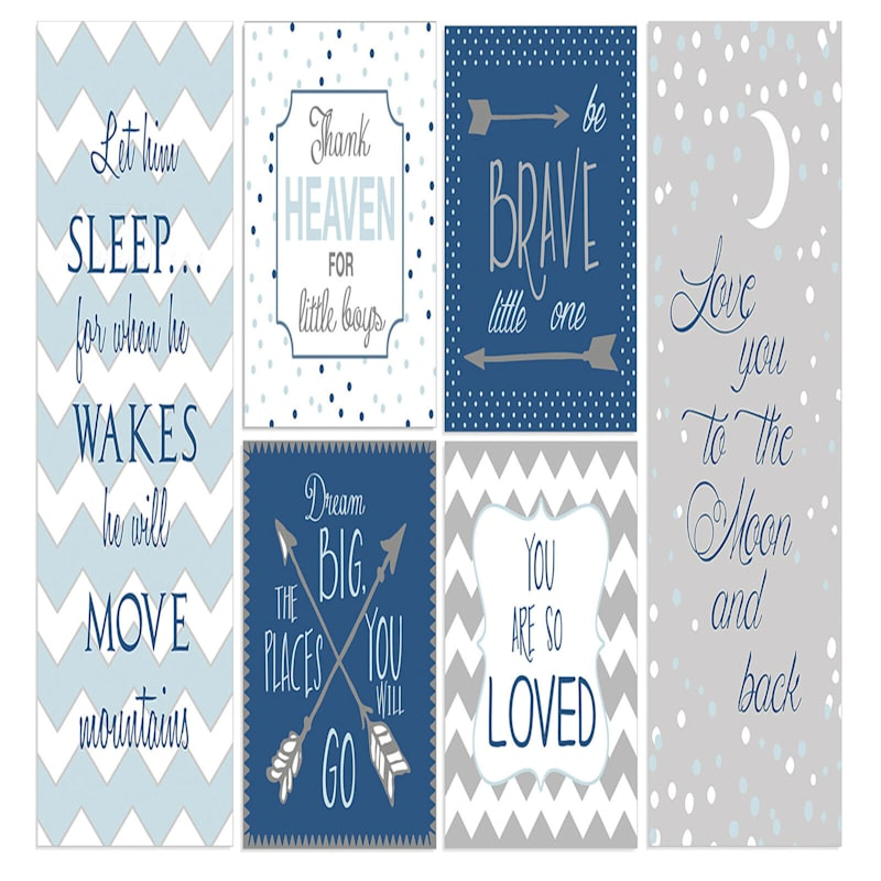 16X32 Let Him Sleep 6 Piece Canvas Set