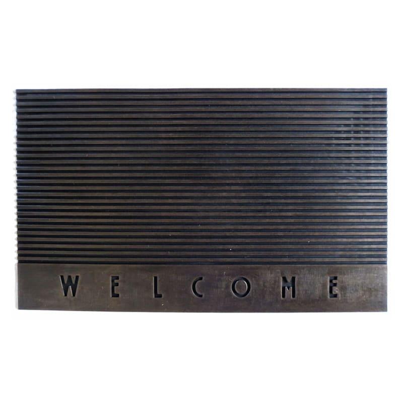 Silver and Copper Artisian Doormat Assortment- 18x30 in.