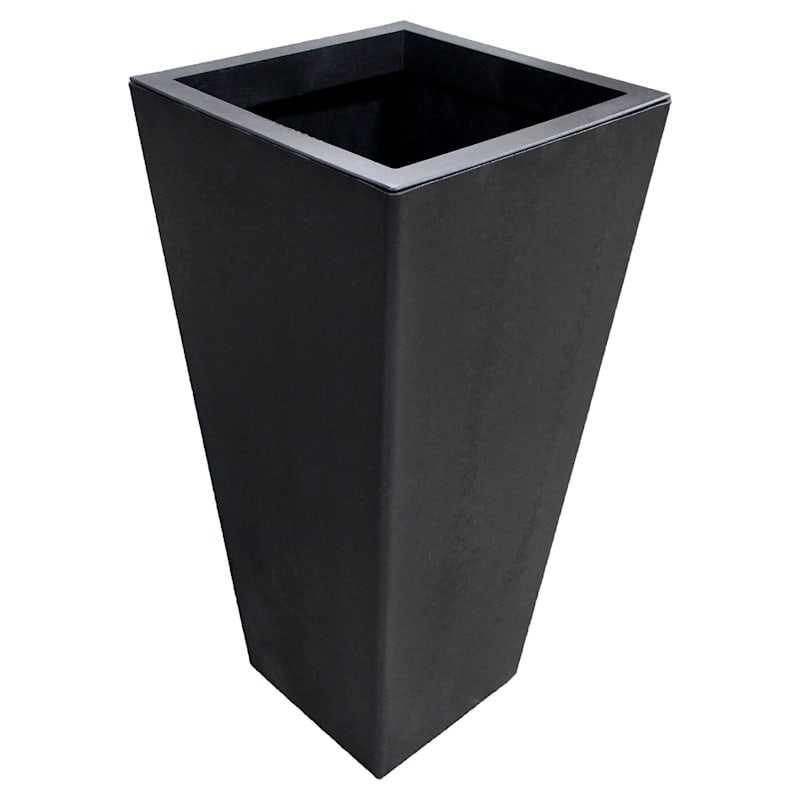 Sonata Slate Recycled Rubber Planter 18X32X36