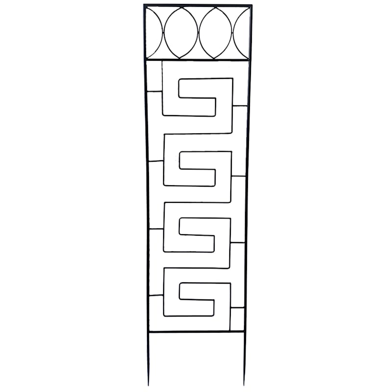 Black Metal Contemporary Trellis, 53""