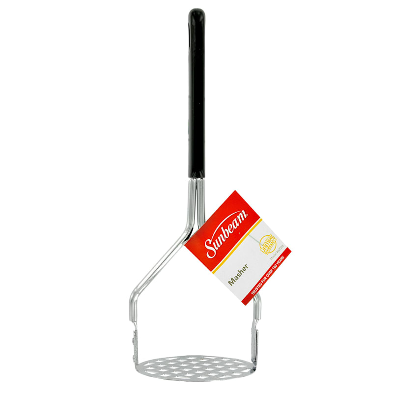 9.5in. Chrome Masher /Black Handle