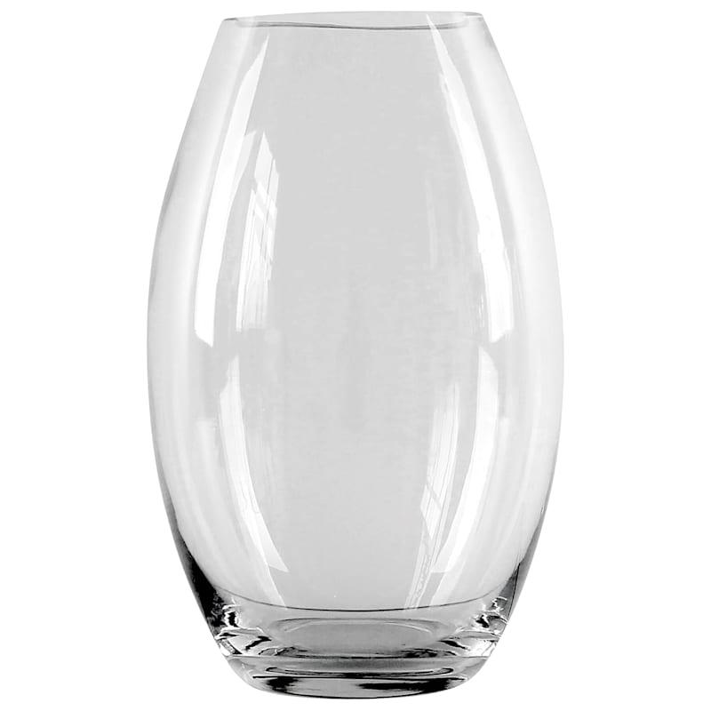 10in. Clear Glass Bullet Vase