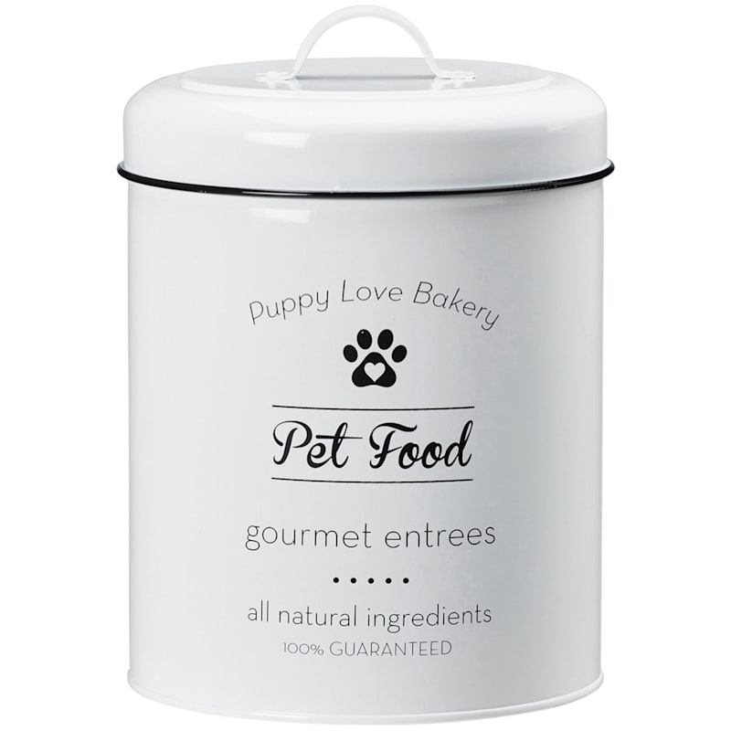 Puppy Love Pet Food Canister