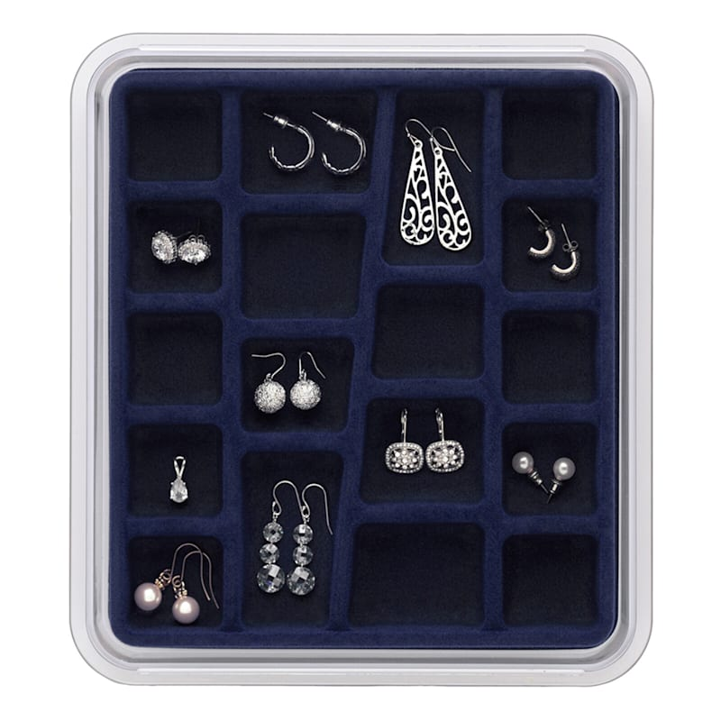 Jewelry Organizer Blue