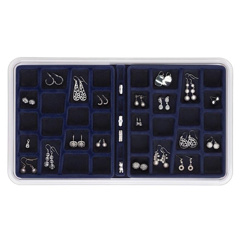 Jewelry Organizer Blue