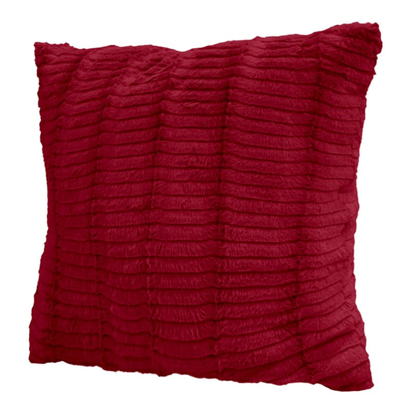 Red Lash Pillow 24X24