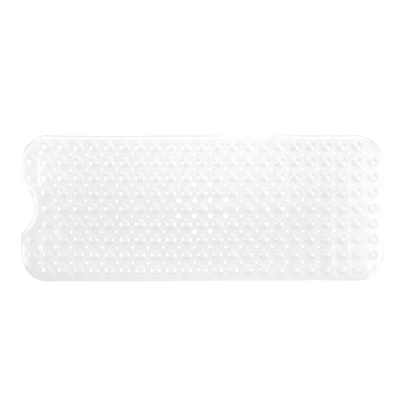 Extra Long Deluxe Shower Mat Clear