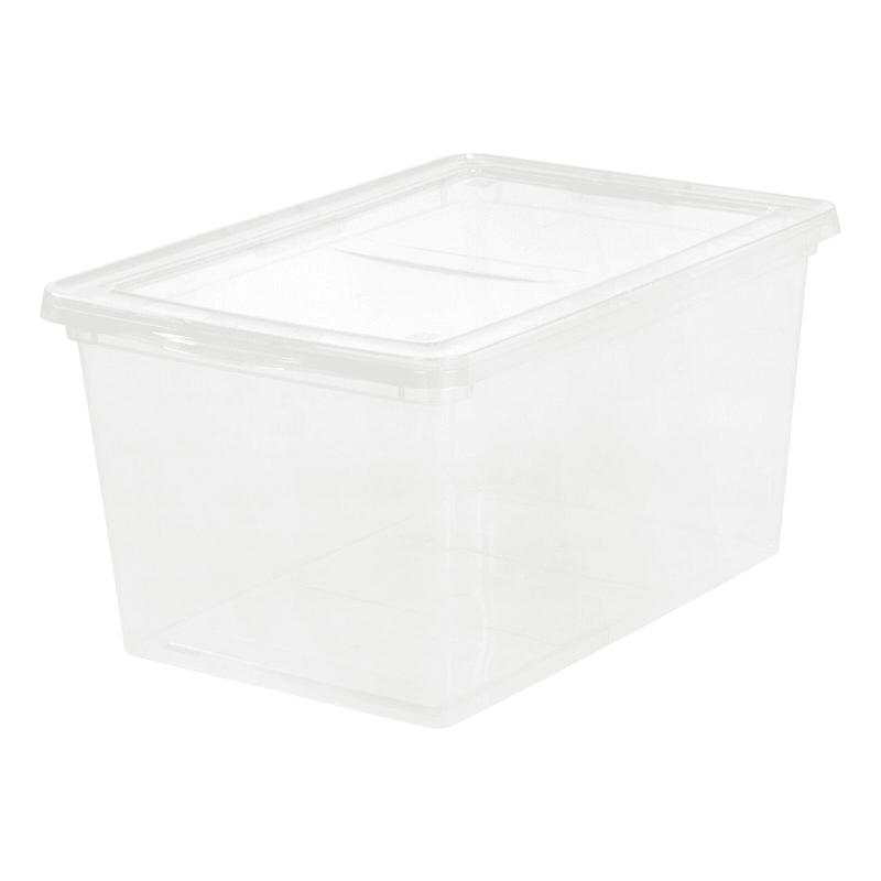 58-qt Snap Top Storage Box - Clear