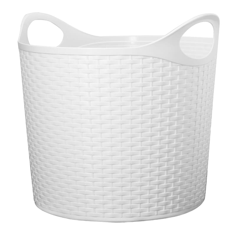 Flex Wicker Tub White