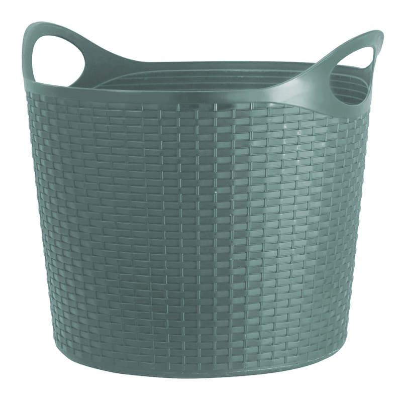 Flex Wicker Tub Aqua