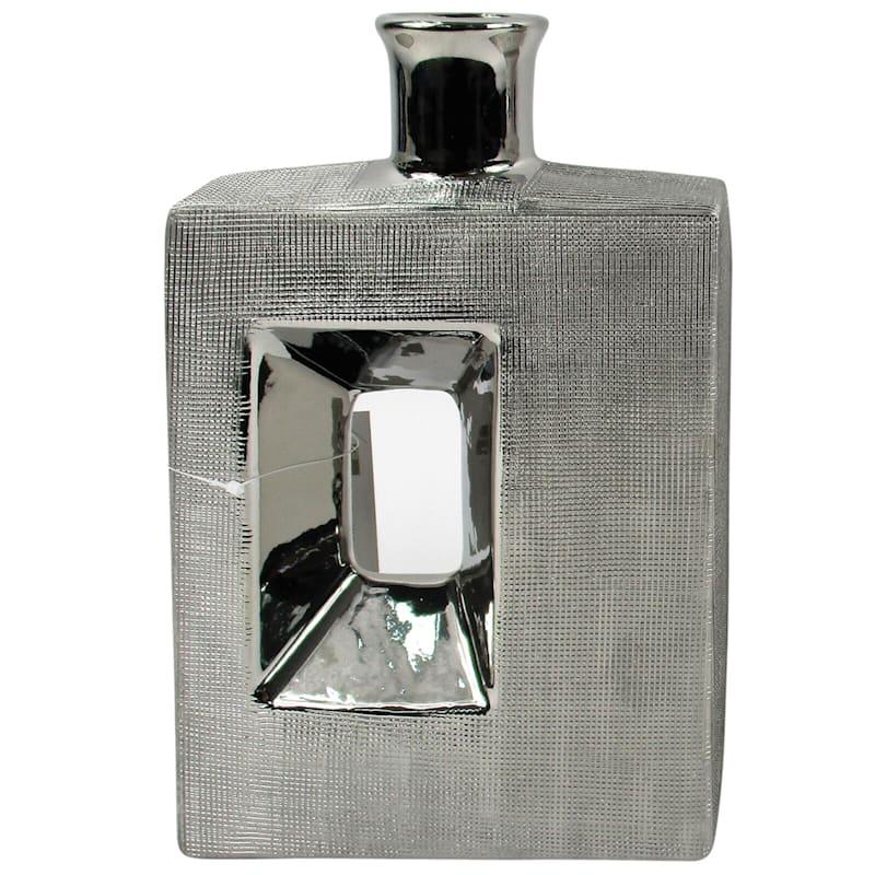 11X7 Ceramic Square Vase