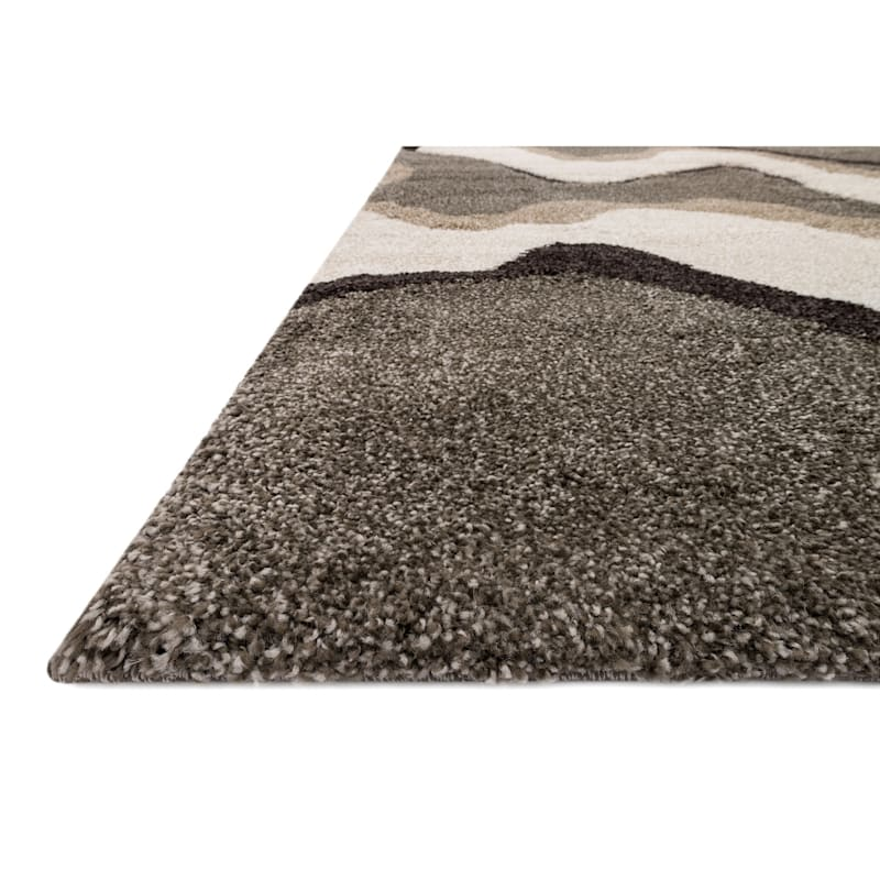 (A280) Sydney Waves Multi Area Rug, 8x10