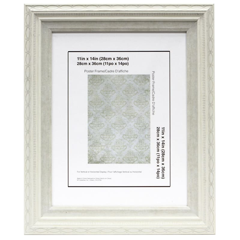 18X24 White Wall Frame