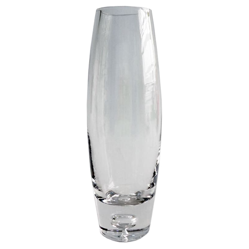 3X11 Clear Glass Bullet Vase