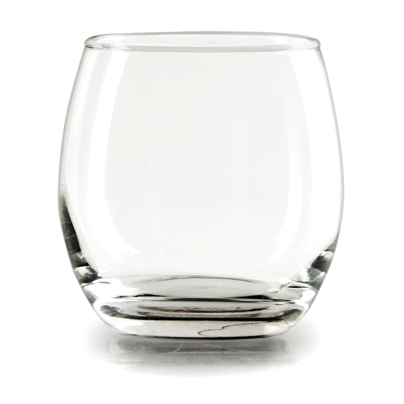 Set Of 4 12oz Stemless Red Wine Glass
