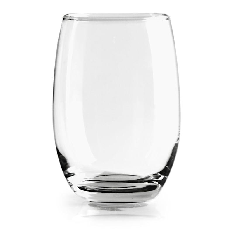 Set Of 4 15oz Stemless White Wine Glass