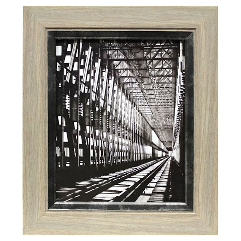 8X10 Greywash Tabletop Frame