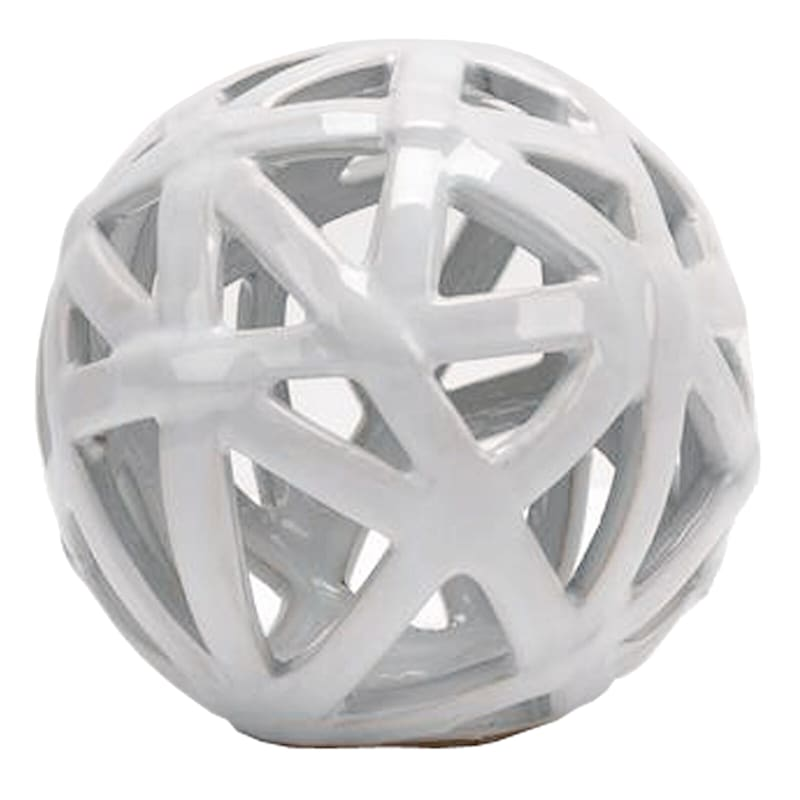 5-IN. WHITE LINES ORB