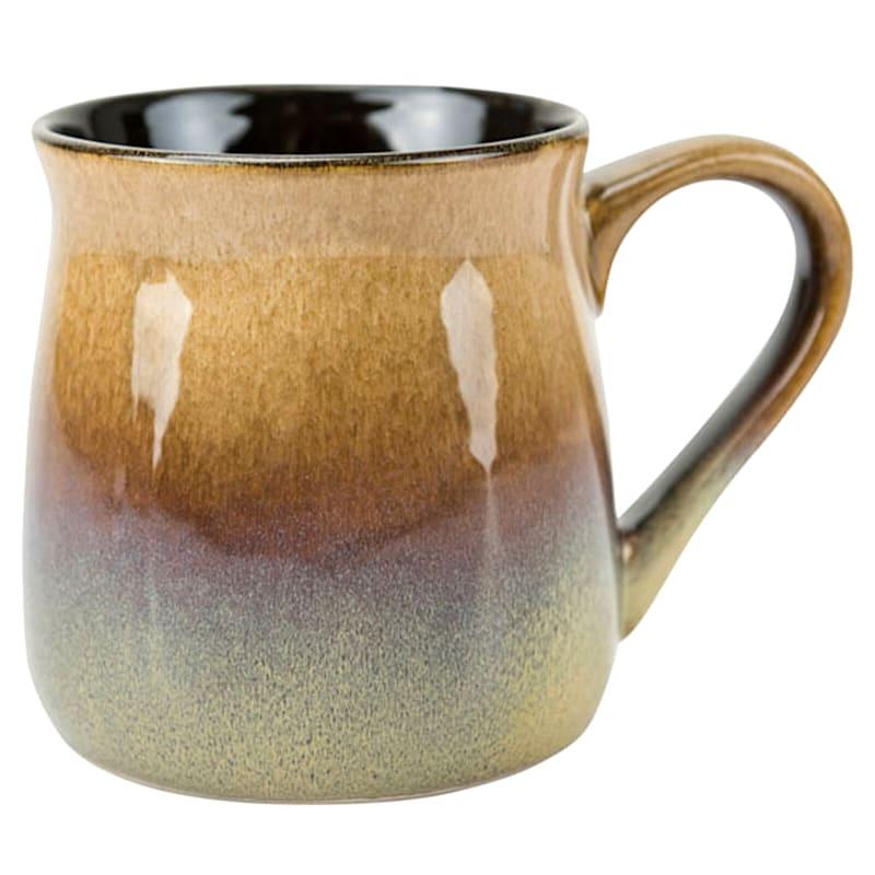 24oz Ombre Belly Mug Sand Tones