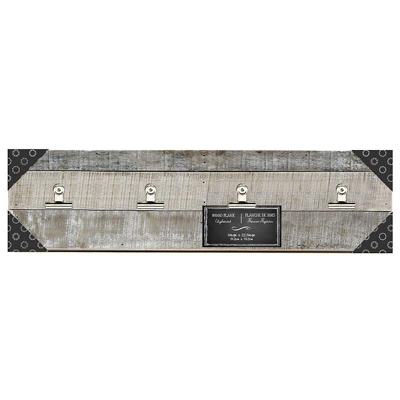 22.5X6 Grey Clipboard Tabletop Frame