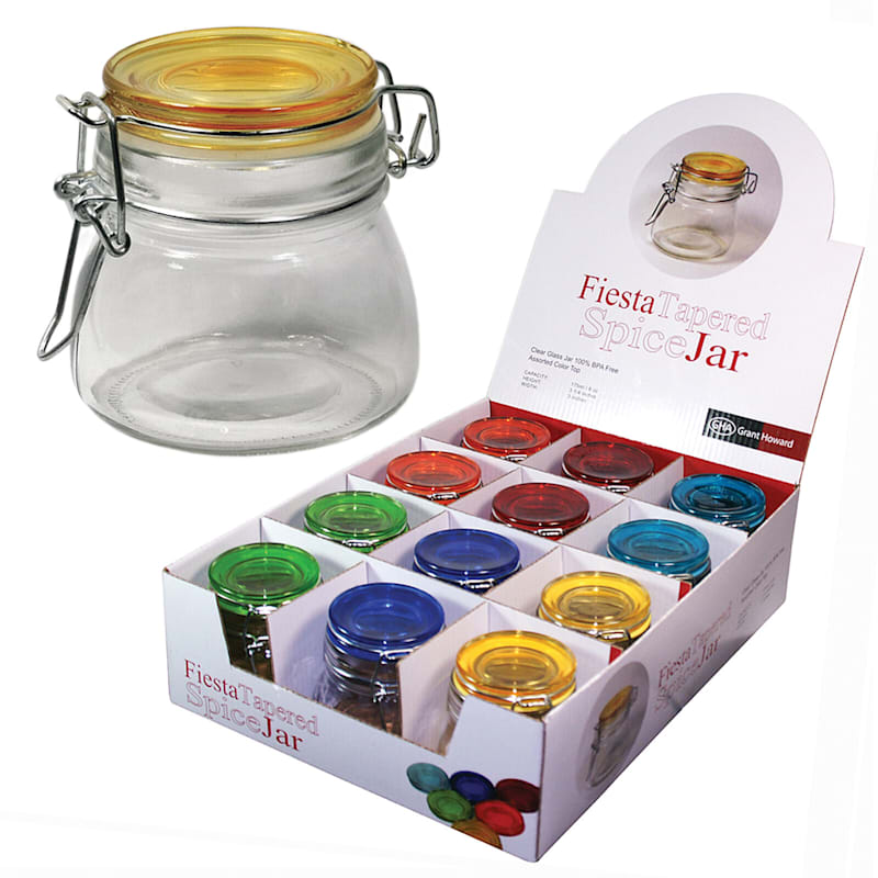 Fiesta Tapered 6oz Spice Jars