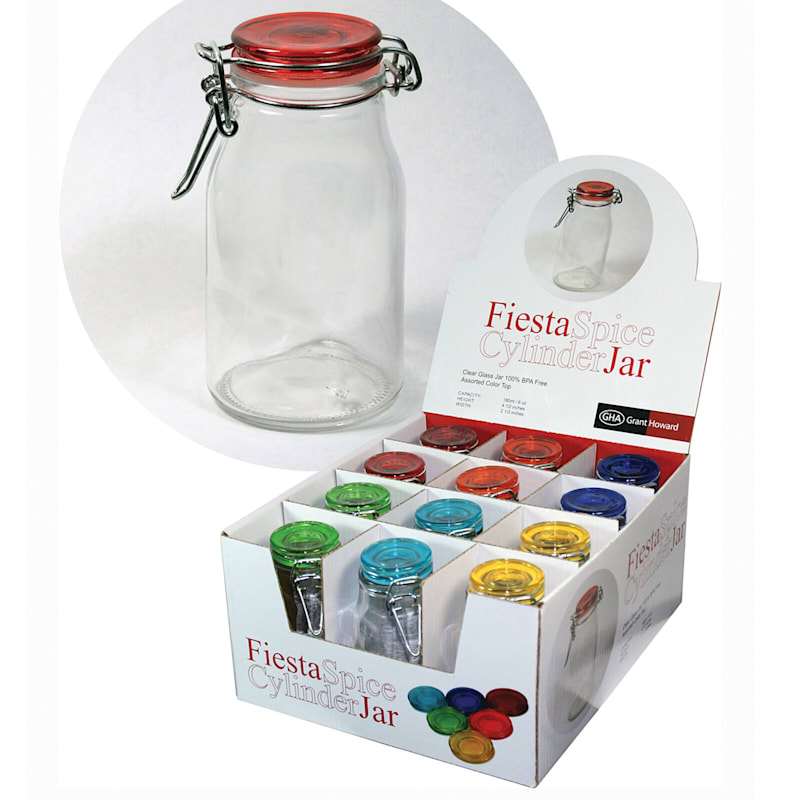 Fiesta Cylinder Jars 6 oz