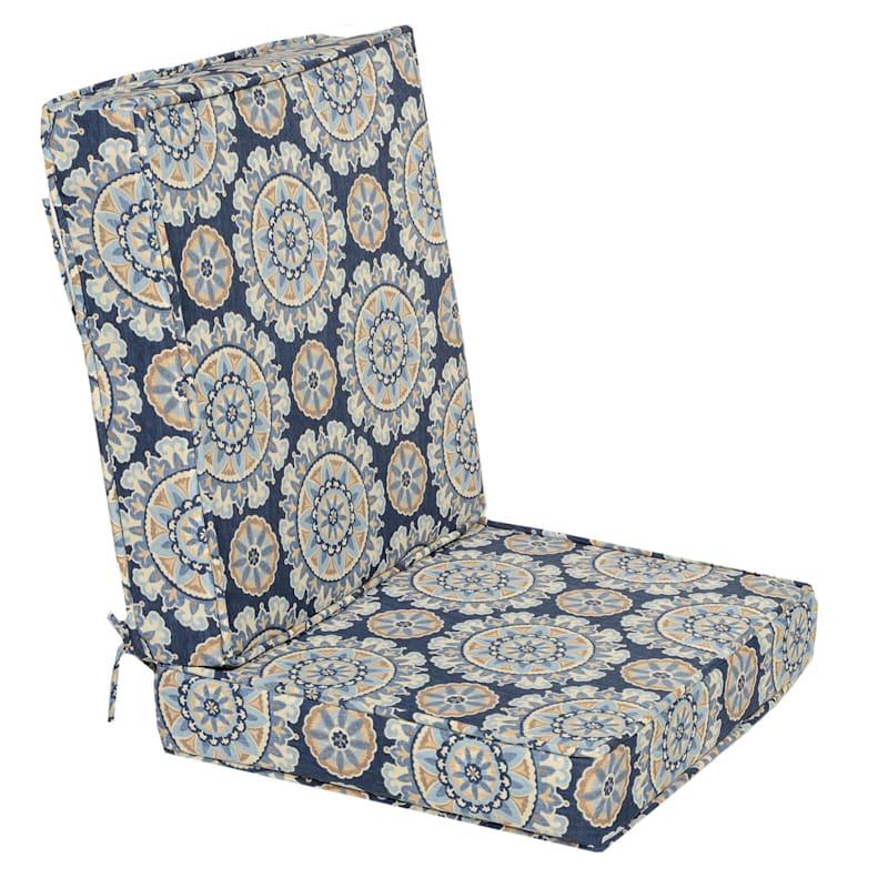 Talahari Cornflower 2 Piece Deep Seat Cushion