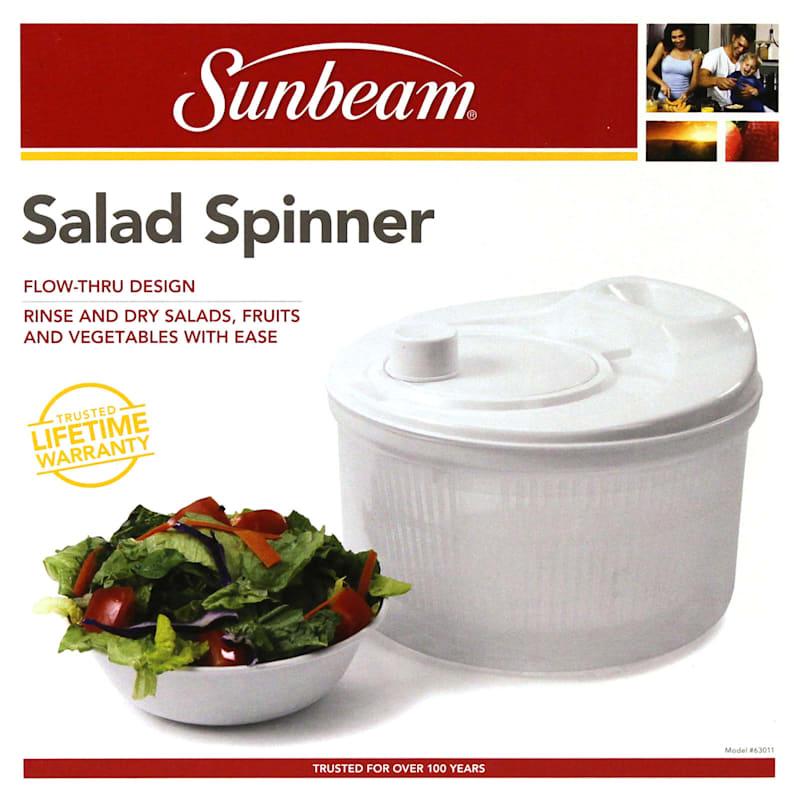 Salad Spinner White