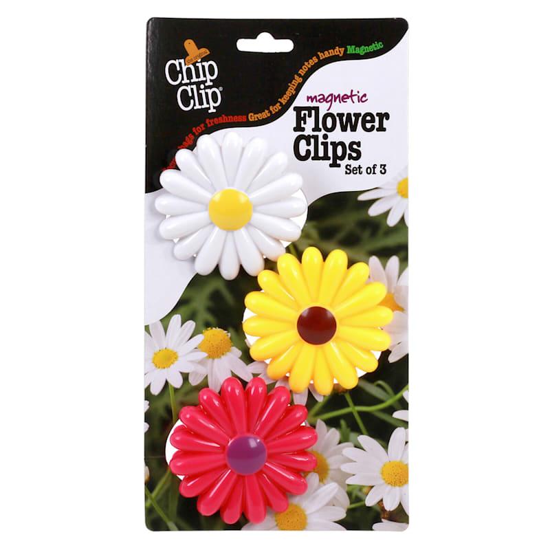Flower Clips Set of 3