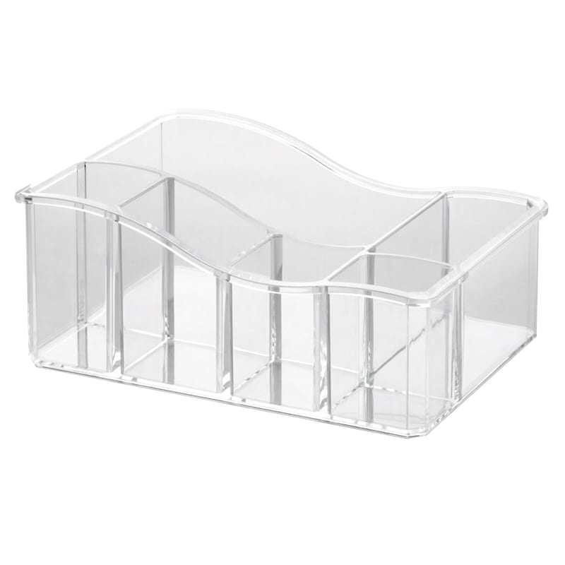 6 Compartment Cosmetic Multi Tray