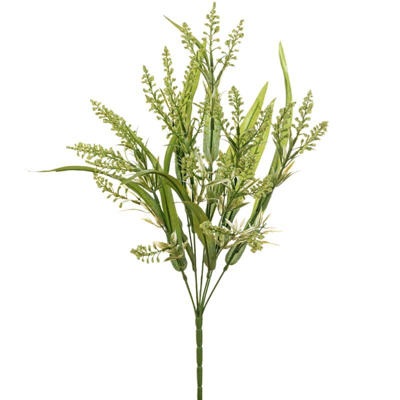 21IN HEATHER/GRASS BUSH X 8 GR