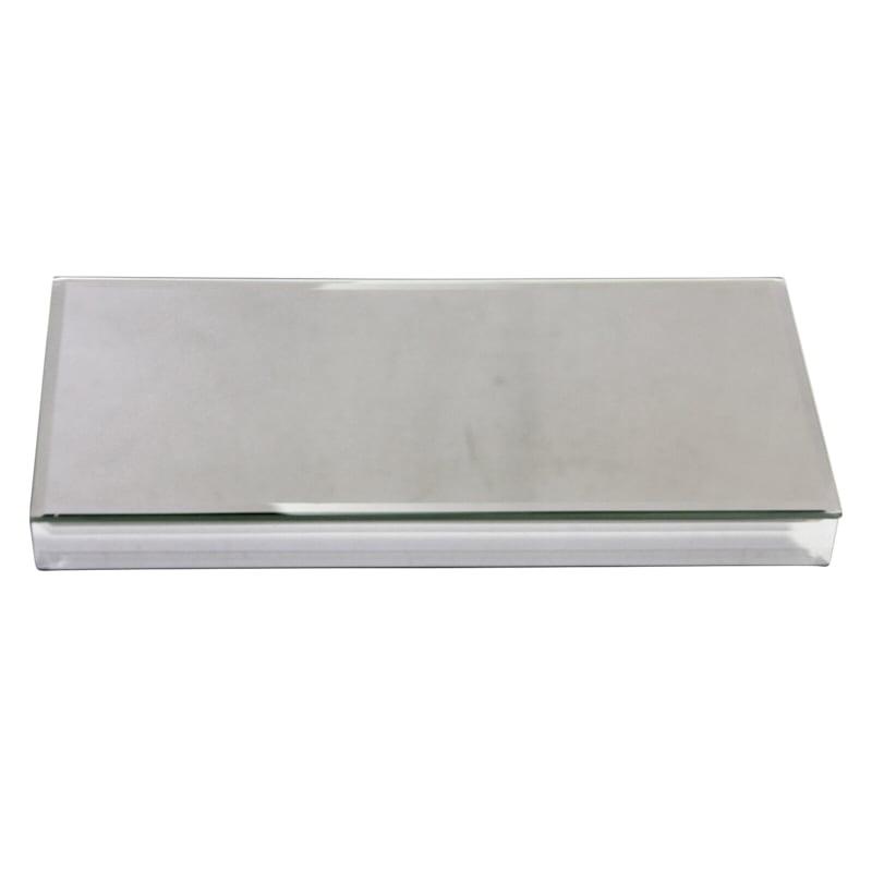 6X12 Silver Mirror Riser