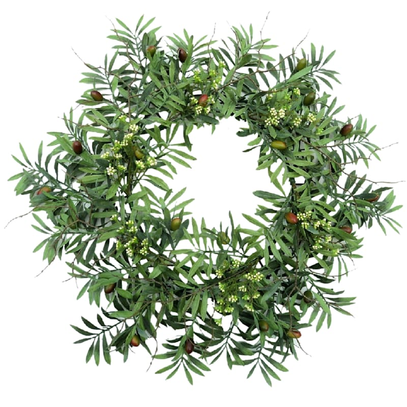 Olive Hill Wreath, 30""