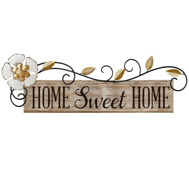 20X6 Home Sweet Home Wall Art
