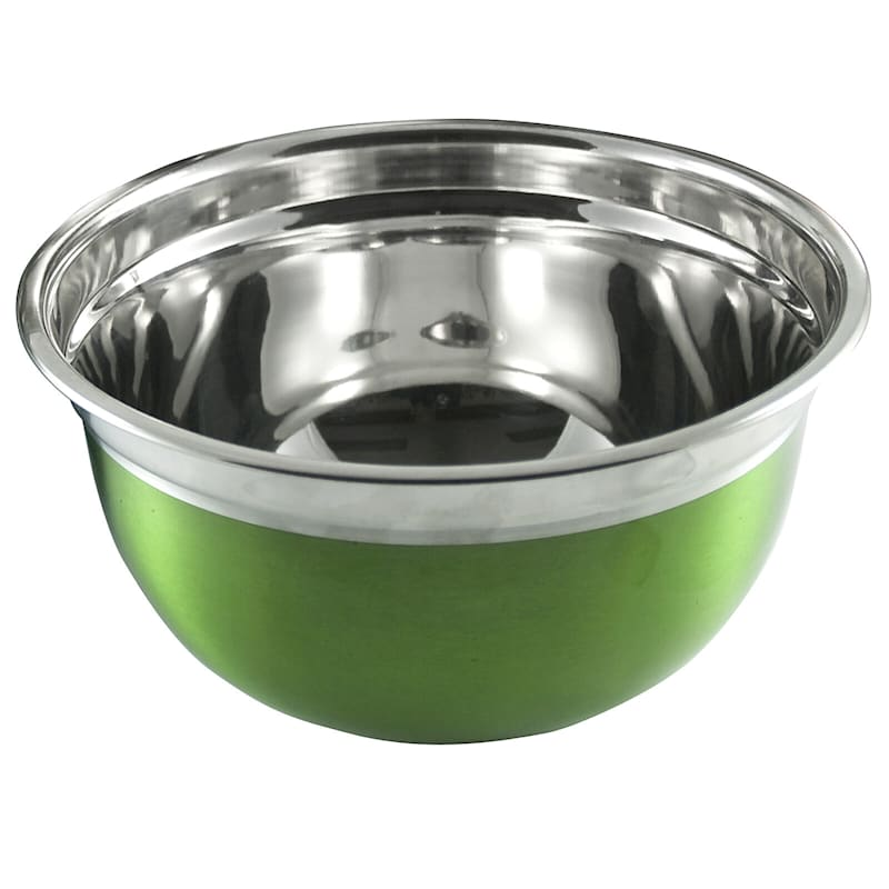 Metal 1.5 Quart Multi Color Mixing Bowl