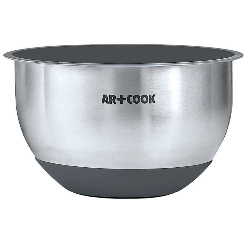 5 Quart Stainless Steel Mixing Bowl/Non-Skid Base