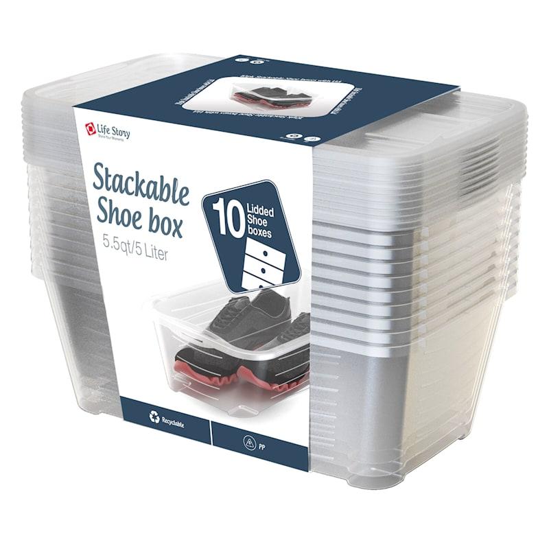 10-Pack Shoe Storage Value Set