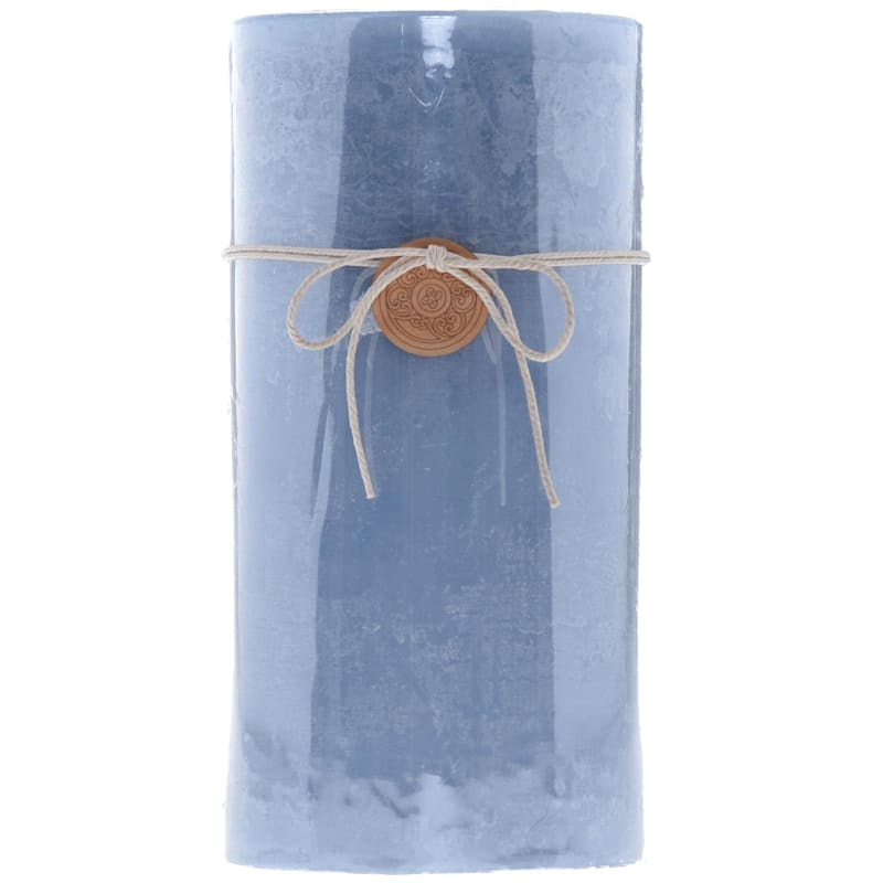 4X8 Unscented Pillar Blue