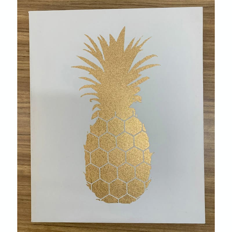 9X11 Pineapple Art Canvas