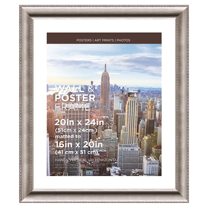20X24 Matted To 16X20 Poster Anne Silver Frame