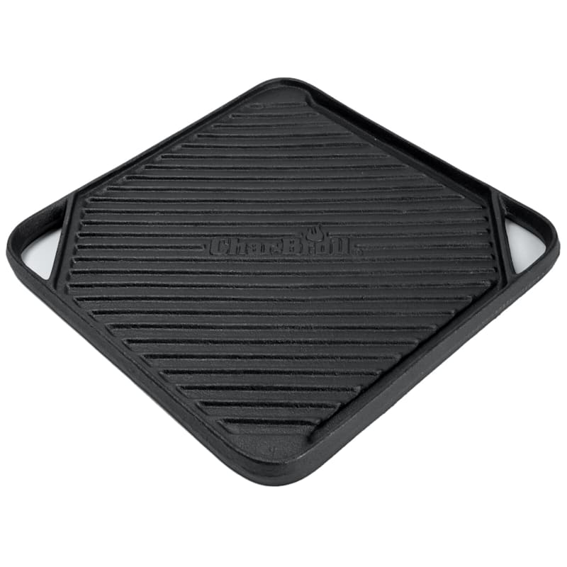 Cast Iron Square Reversible Grill Topper
