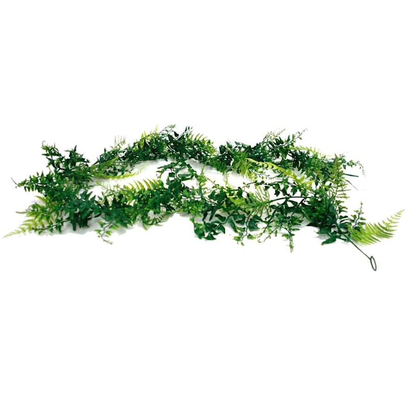 Fern Grass Garland 6 Ft