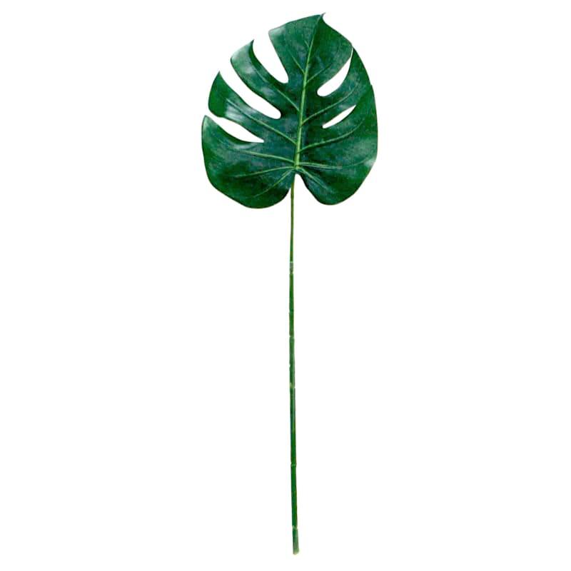 22in. Poly Split-Leaf Philo Stem