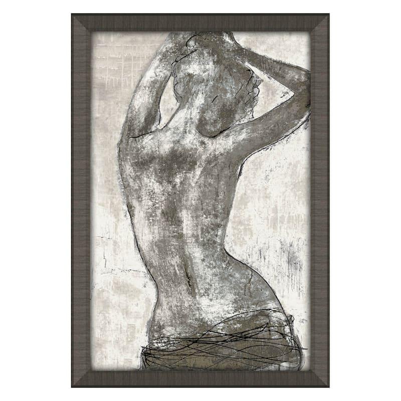 24X36 Gesture Art Framed/Glass