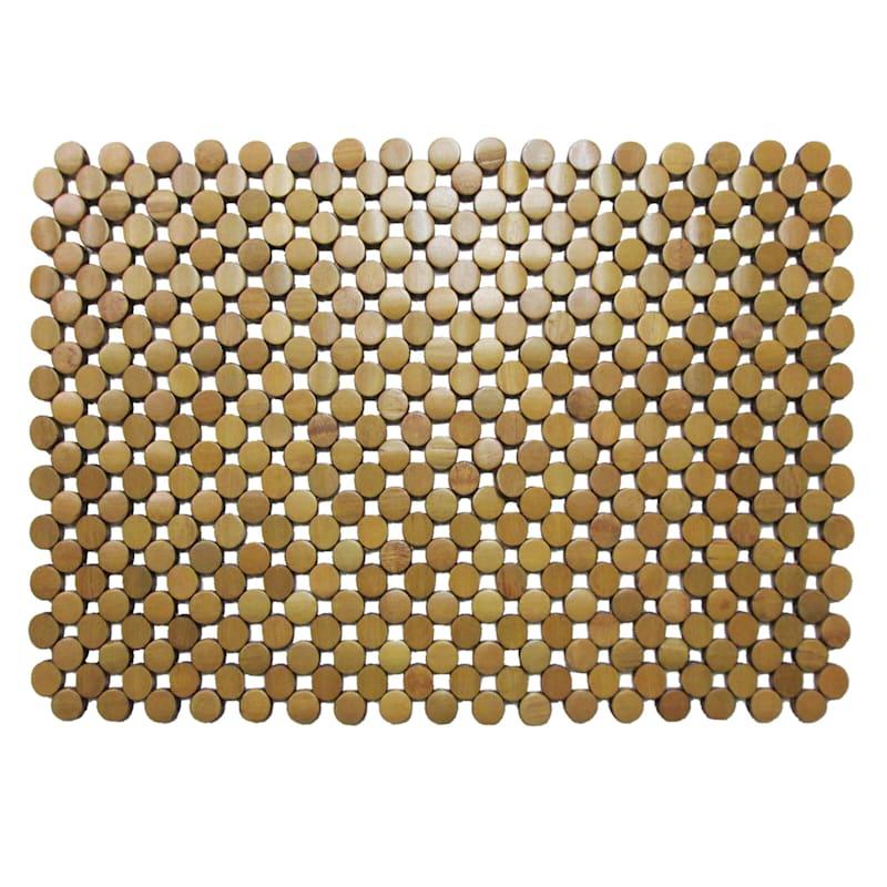 Square Circa Brown Bamboo Placemat