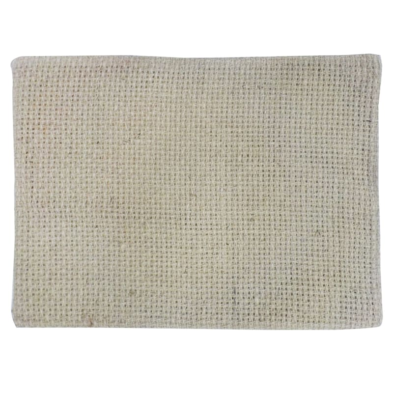 Single Natural Burlap Netted Placemat